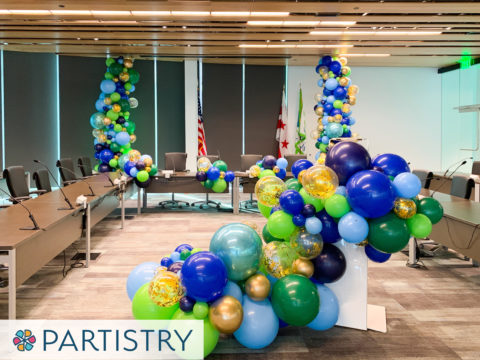 Washington DC corporate event balloon decorations