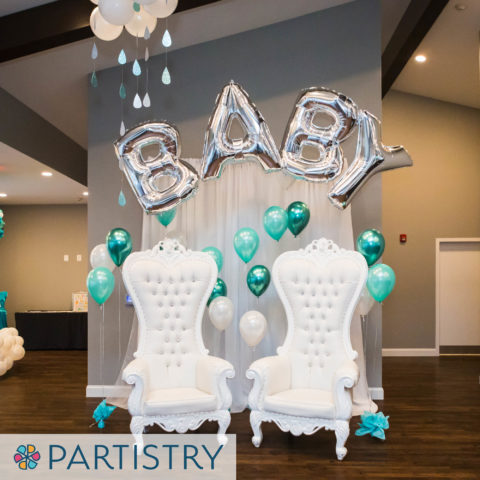 Baby shower balloons in Baltimore, MD