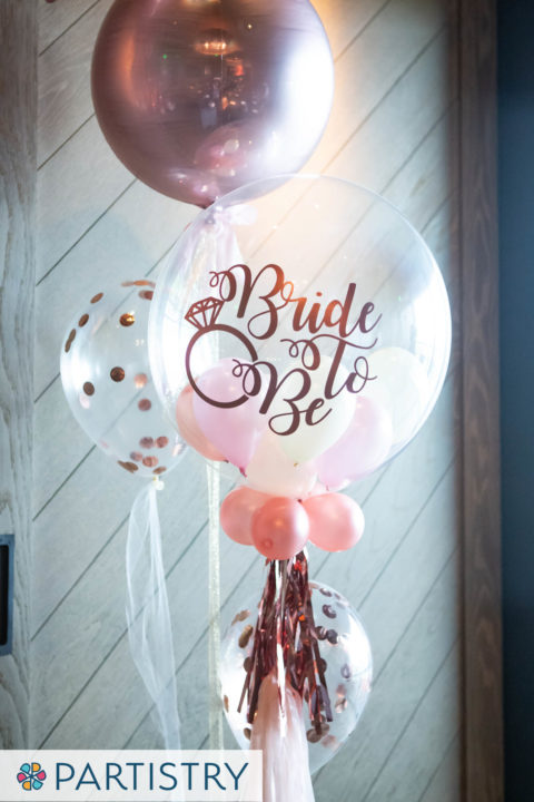 Bride to Be Balloon Bouquet