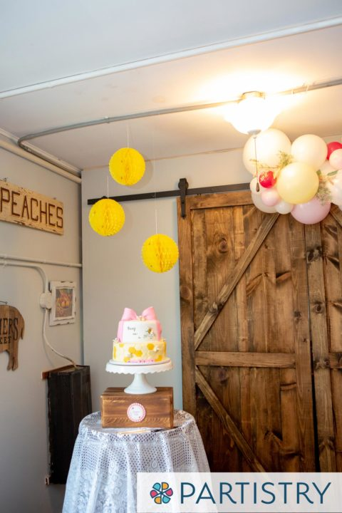 bee themed birthday feature
