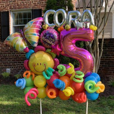 custom birthday party balloons